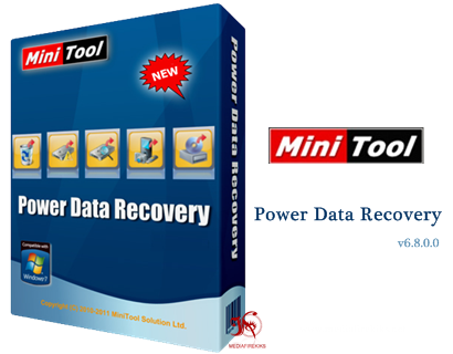 MiniTool Power Data Recovery Boot Disk 6 8 with Serial free