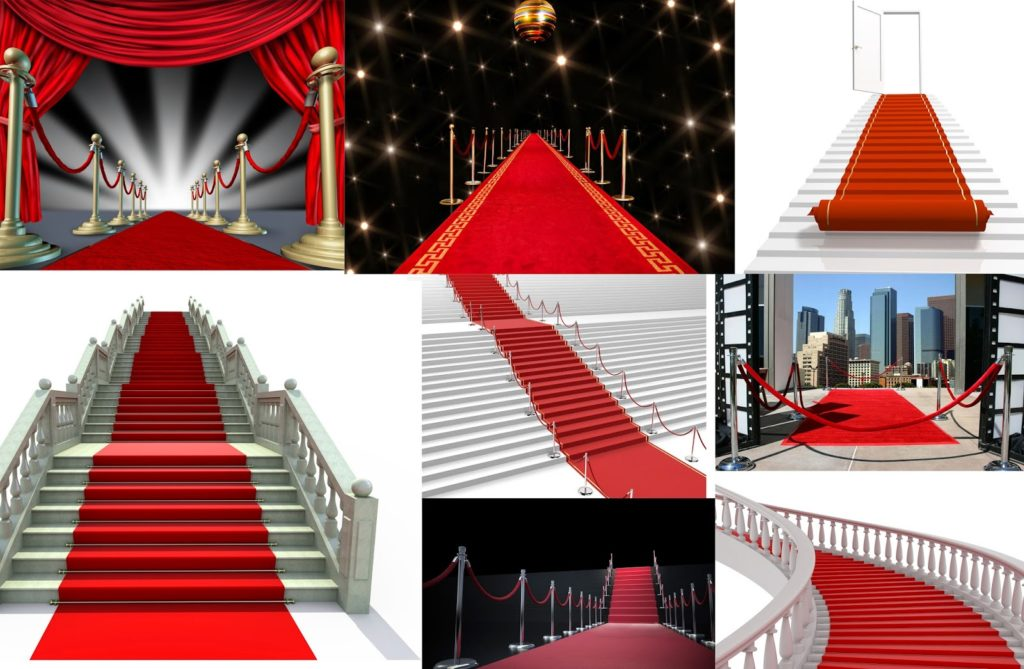 Red carpet Nice Collection for Adobe Photoshop by sammi.