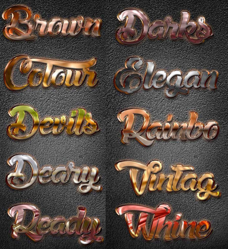 Shine Styles for Photoshop