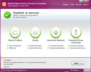Quick Heal Internet Security Essentials With Key Full