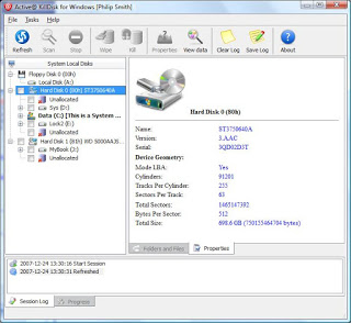 Photo of Active KillDisk HardDriveEraser5_0Pro 100% Full Working
