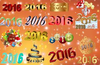 Photo of Happy New Year 2016 Text Style png Collection