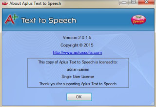 Text to Speech with key