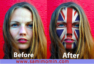 Face Painting Action for Photoshop free