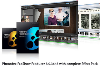 Photo of Photodex ProShow Producer 8.0.3648 with complete Effect Pack