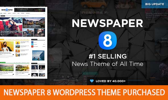 Photo of Newspaper 8 Wordpress theme purchased latest Download
