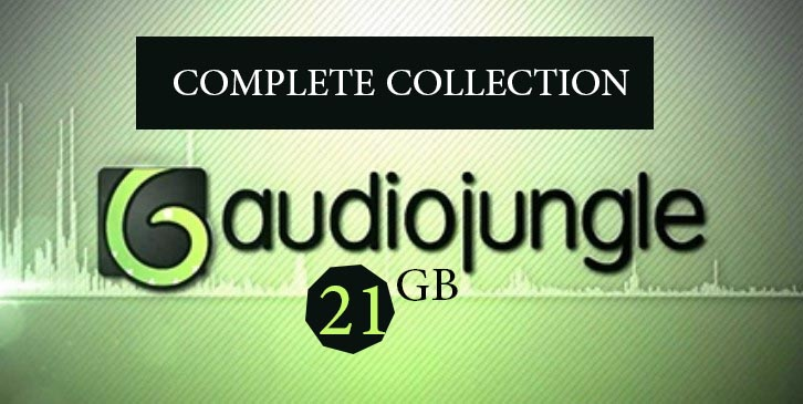 Photo of Download Complete 21GB Collection AudioJungle Best Selling Music