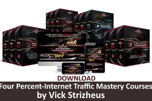 Download Four Percent-Internet Traffic Mastery by Vick Strizheus