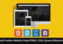 Download Build Creative Website Using HTML5, CSS3, jQuery & Bootstrap