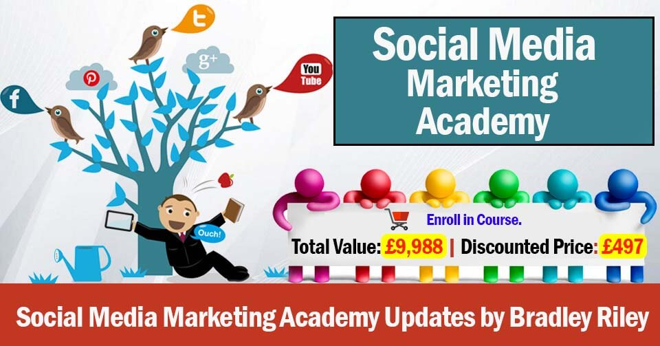 Photo of Download Social Media Marketing Academy Updates by Bradley Riley