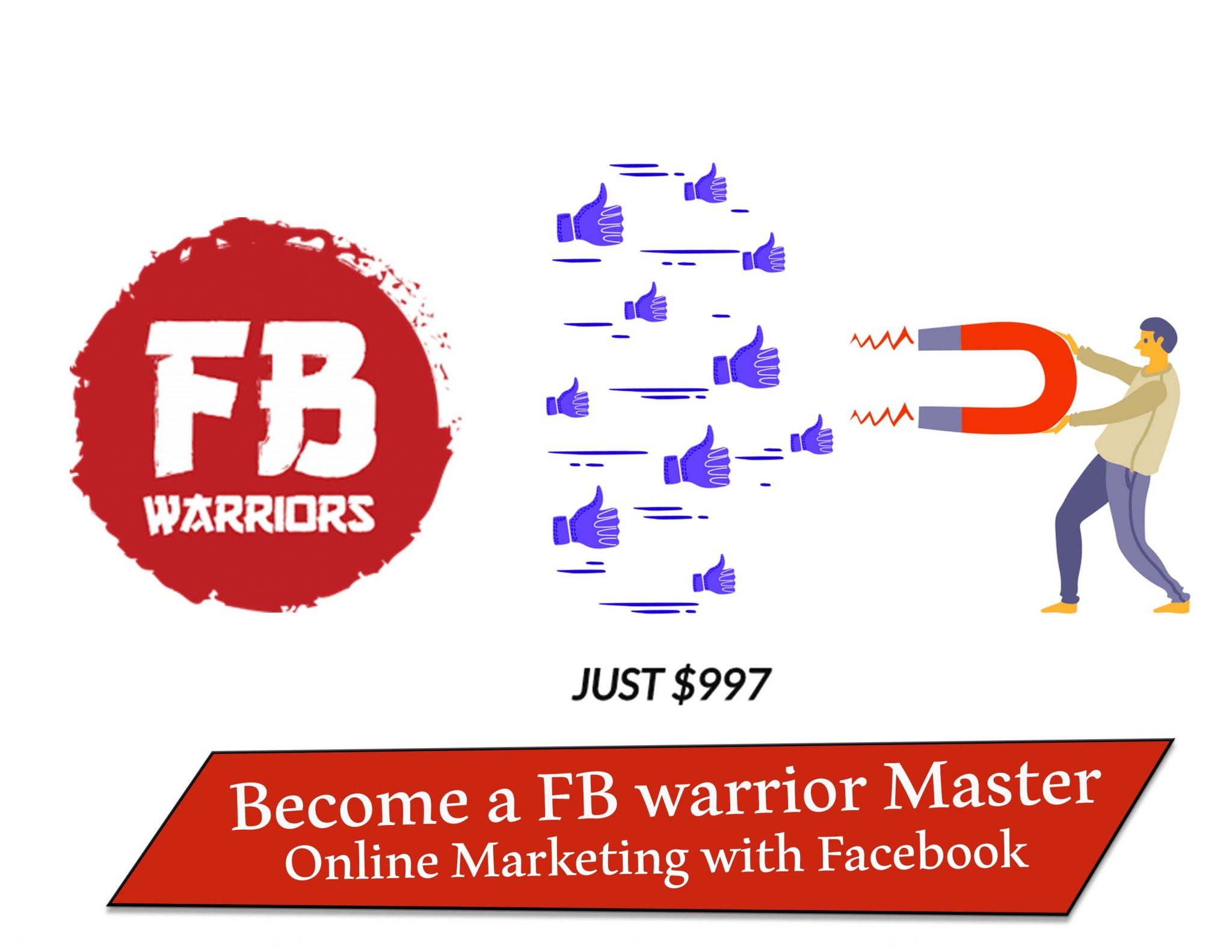 Download become a FB warrior Master Online Marketing with Facebook