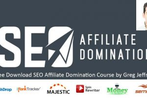 Free Download SEO Affiliate Domination Course by Greg Jeffries