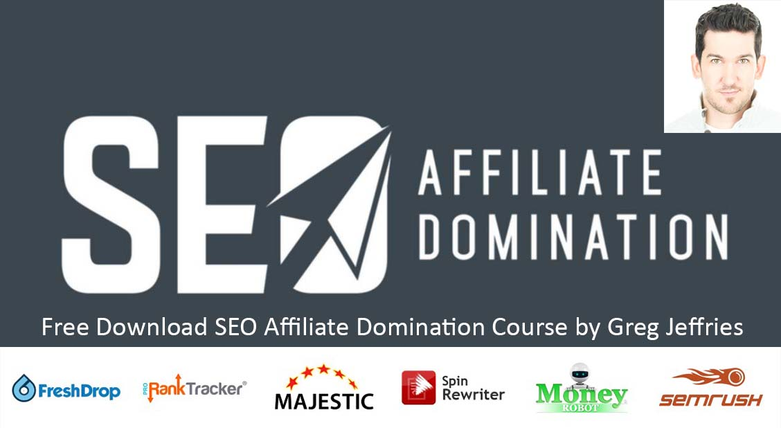 Photo of Free Download SEO Affiliate Domination Course by Greg Jeffries