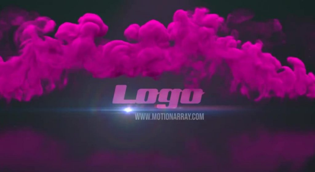 Download Smoke Logo Reveal Templates for Premiere Pro