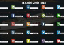 Free Download 3D Social Media Icons Premiere Pro Templates 90138