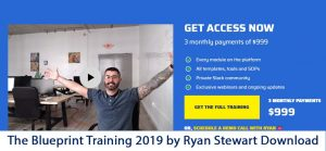 The Blueprint Training 2019 by Ryan Stewart Download