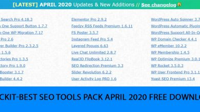 Photo of Crackit-Best SEO Tools Pack April 2020 Free Download