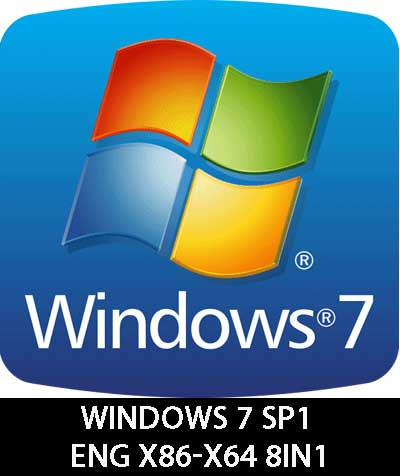 Windows 7 SP1 RUS-ENG x86-x64 8in1 KMS activation Download