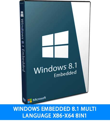 Windows Embedded 8.1 Multi Language x86-x64 8in1 download